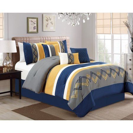 Home In 2020 Luxury Comforter Sets Comforter Sets Yellow Bedding