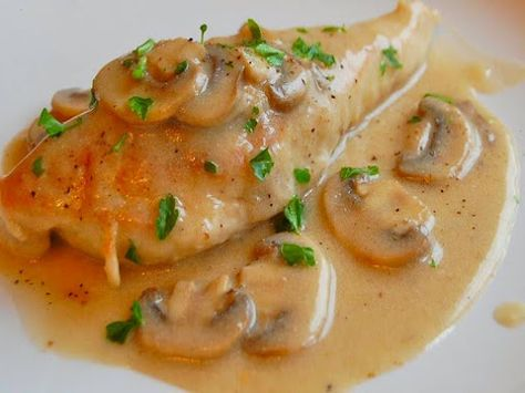 GRILLED COD FILETE AND CREAMY MUSHROOM SAUCE Tonight's diner a simple fair of…