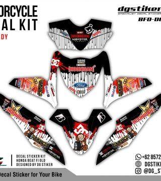 23 Stiker Keren Beat Di 2020 Honda Stiker Skateboard