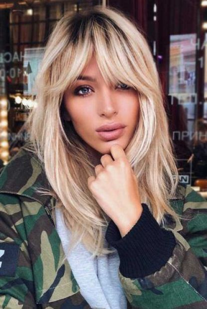 Hairstyles For Bangs With Oblong Faces Hair Styles Long Hair Styles Oval Face Hairstyles
