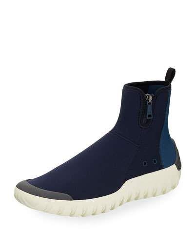 Blue   ModeSens   Prada men, Sneakers
