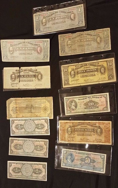 Set of 8Pcs Mexico 1+5+10+20+50+100+500+1000 Pesos Paper Money,Uncirculated