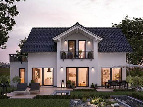 Musterhaus Fertighaus Von In 2020 Prefabricated Houses Residential Architecture Architecture House