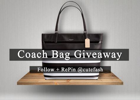 Coach Bag giveaway!!