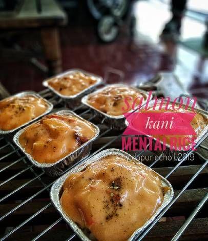 Resep Salmon Kani Mentai Rice Oleh Dapur Echo Ramadanioetomo Resep Resep Salmon Makanan Makanan Dan Minuman
