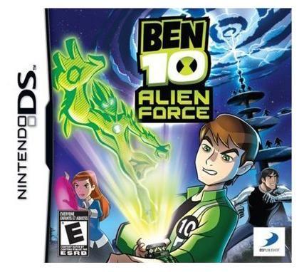 Ben 10 Alien Force Tv Show D3 Ben 10 Alien Force Nintendo Ds