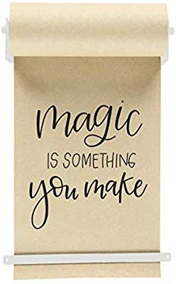 Amazon Com Rettel Kraft Paper Roll Display Wall Decor Trending Wall Mount 1 Kraft Paper Roll Included 8 Inch Whit In 2020 Wall Display Novelty Sign Wall Decor