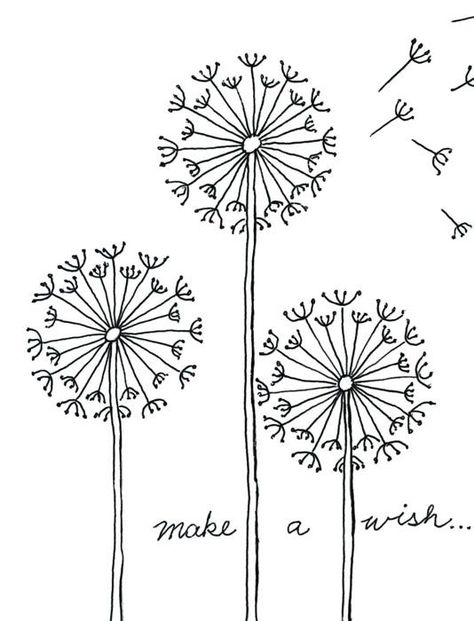 Dandelion Painting · Art Projects for Kids Art projects for children Art projects tested by teachers I will use this dandelion drawing tutorial on contact paper to create decals Dandelion Drawing, Dandelion Painting, Painting Art, Paintings, Painting Quotes, Drawing Skills, Drawing Lessons, Drawing Art, Baby Drawing