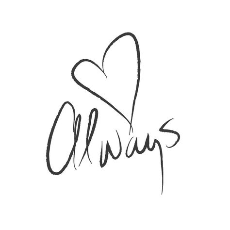 wall quotes wall decals - Love Always   lifestyle
