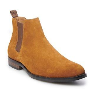 Kristopher Men's Suede Chelsea Boots