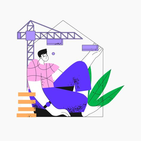 Illustration UI Kit - trending illustrations for Sketch, Figma, Illustrator, Affinity Designer