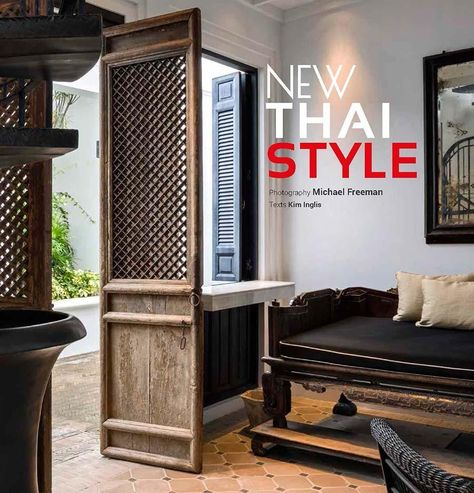 Explore 6 Inventive Thai Houses and Hotels Thai House, Asian House, Architectural Digest, Thai Decor, Thai Design, Design Design, Industrial Design Furniture, Furniture Design, Asian Home Decor