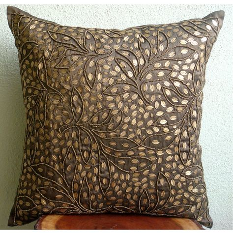 Pillow Covers Brown Throw Pillows