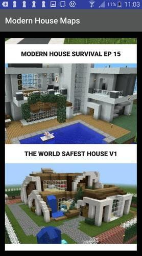 Minecraft Lets Build A Modern House Ideas Modern House For Minecraft For Android Apk Download Minecraft Modern Building A House Modern House