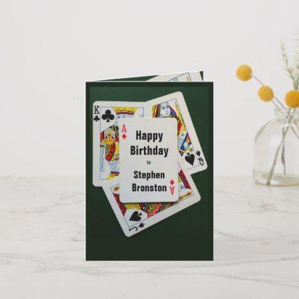 Poker Birthday Anniversary Invitation Party Card Zazzle Com Anniversary Invitations Party Card Holiday Design Card