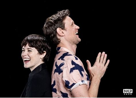 A Doctor a day/Matt Smith and Claire Foy talk about The Crown with Build Series ♥️