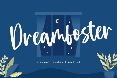 Dreamfoster (Font) by Balpirick · Creative Fabrica