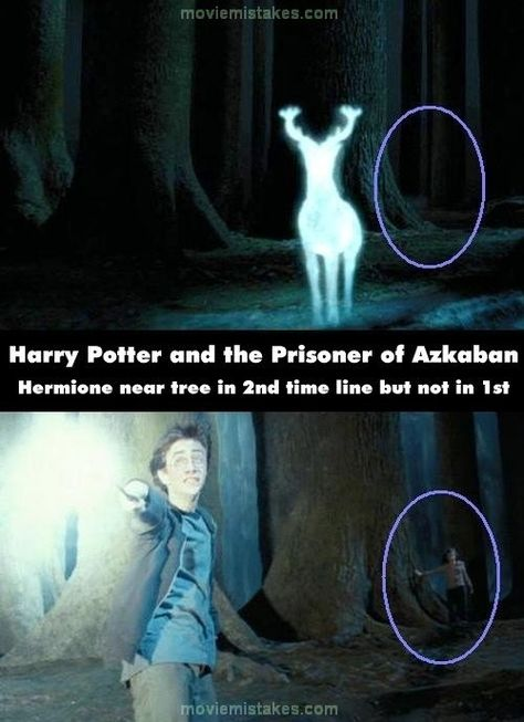 """""""Noticeable"""" Mistakes In The Harry Potter Movies. The movies are still awesome regardless. Someone must have watched them frame by frame."""