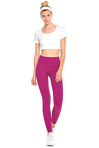 Athletic Yoga Leggings from DiaNoche Designs by Marley Ungaro Butterfly Violet