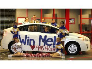 Prius Giveaway To Help Fvhs Pep Squad Meet Budget High School Fundraiser Pep School Fundraisers