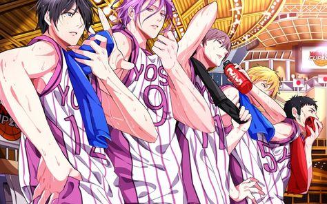 Anime kuroko/'s basketball YOSEN High Murasakibara Atsushi Himuro Tatsuya cosplay