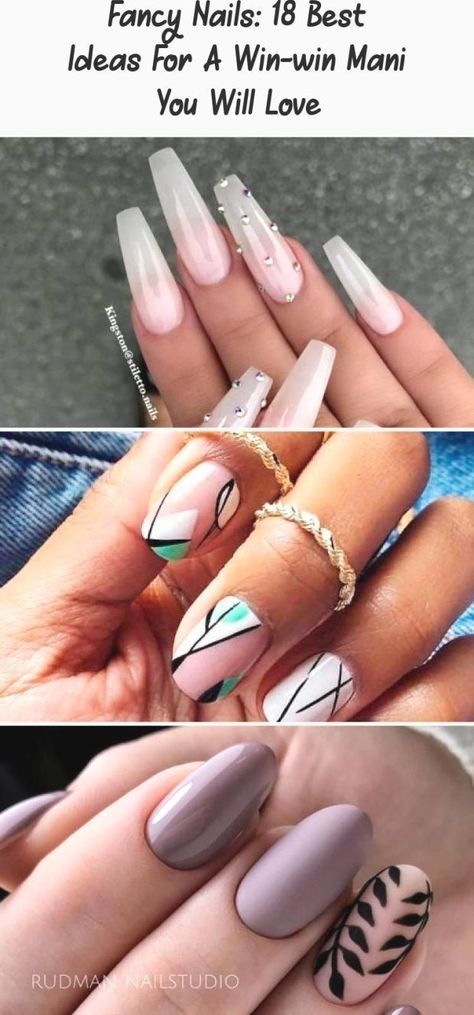 Fancy Nails: 18 Best Ideas For A Win-win Mani You Will Love : Fabulous Nails In ... -