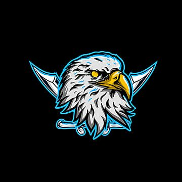 Eagle Head Maskot Logo Esport Logo Icons Head Icons Eagle Icons Png And Vector With Transparent Background For Free Download Logo Keren Logo Game Gambar Tengkorak