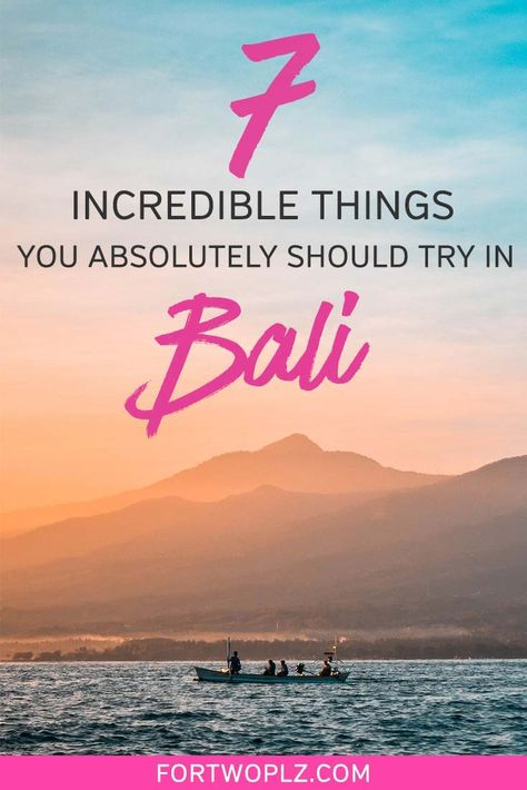 [Asia Traveling] Bali, Indonesia is the perfect tropical travel destination for a romantic escape and honeymoon! There is so much to see and do on this island. Fill your days with Hindu temple visits, luxury dining, rice terraces walks, or relaxing at the resorts in Nusa Dua, Bali. This Bali travel guide makes it easy to plan your Bali trip by including all the cool spots for eating, drinking, and taking that dreamy Bali travel photography!