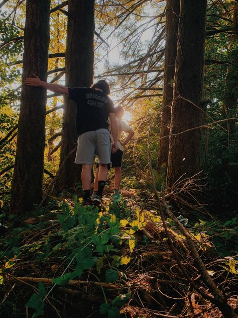 discovered this bridge after 10 years?? #outdoor #outdoorphotography #trees #washington #friends #boys #adventure