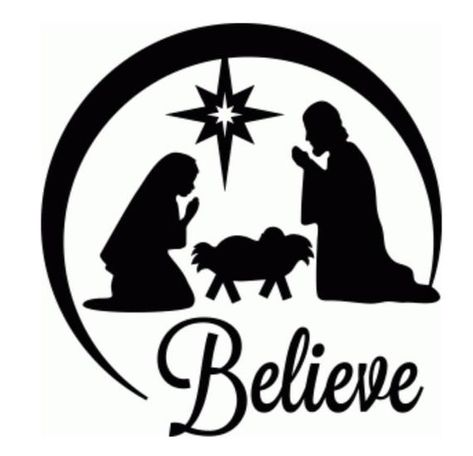 christmas clip art black and white for silhouette - Yahoo Search Results Yahoo Image Search Results Christmas Vinyl, Christmas Nativity, Christmas Projects, Christmas Shirts, Christmas Ornaments, Christmas Patterns, Vinyl Ornaments, Glitter Ornaments, Nativity Ornaments