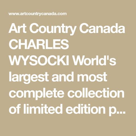 Art Country Canada EMILY CARR Worlds Largest Collection of
