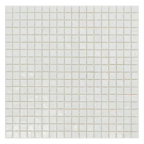 Decor8 298 X 298 X 4mm Candy Glass Mosaic Tile Per Sheet White Glass Mosaic Tiles Mosaic Tiles Mosaic Glass