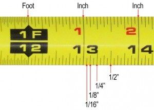 Learn How To Read A Tape Measure Before You Get Carried Away With Wood Working Tape Measure Pencil Case Tutorial Tape