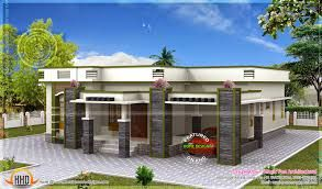 1 On The Outside It Looks Like A Flat Roof But You Cannot See The Top Of The Roof Flat Roof House Roof Styles Modern House Plans