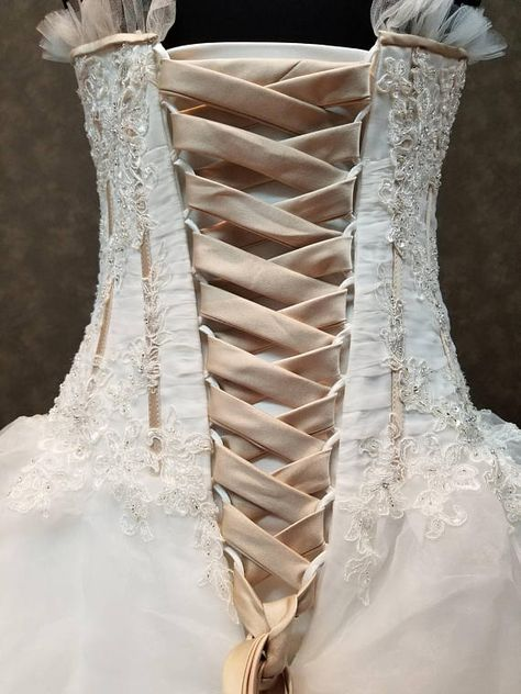 7bb5f88641 Can you Change a Dress with a Zipper to a Corset Back