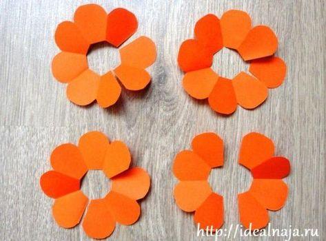 Como Hacer Una Sencilla Flor De Papel Paso A Paso Abby Pinterest