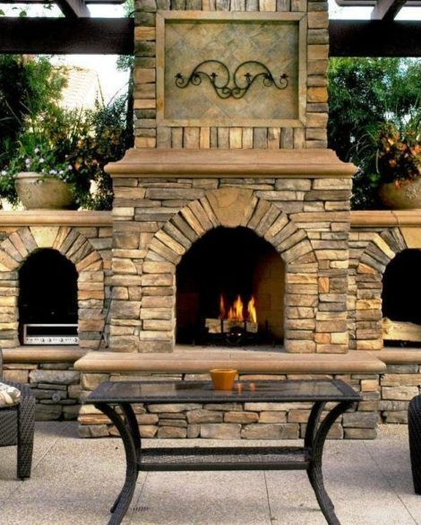 Most Up To Date Snap Shots Open Fireplace Outdoor Style In 2020