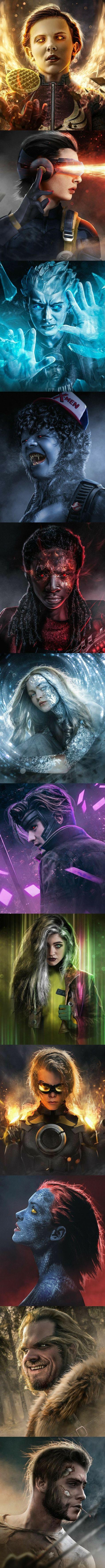 Nada que um photoshop resolva. Simplesmente amei a montagem, foi fiel a característica dos personagens. ^-^