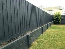 Painted Timber Retaining Wall Google Search Concrete Bricks Cinder Block Walls Wood Retaining Wall