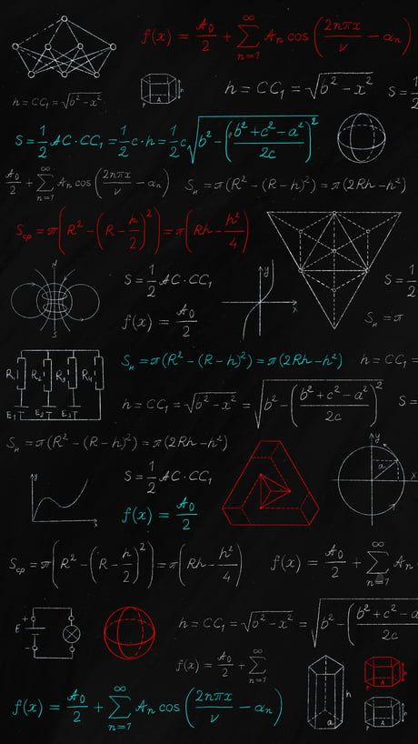 Formulas Math Wallpaper Dark Wallpaper Iphone Iphone Wallpaper Hd Original
