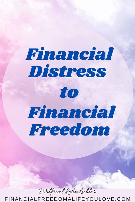 How to - From financial distress to financial freedom