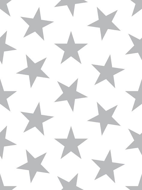 Lucky Star Wallpaper - Double Roll / Silver