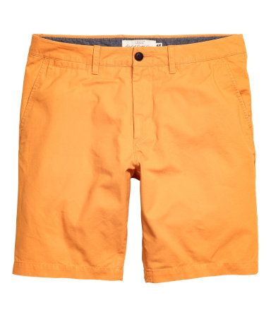 uk store 2018 sneakers excellent quality Chino Shorts   Orange   Men   H&M US   Clothes in 2019 ...