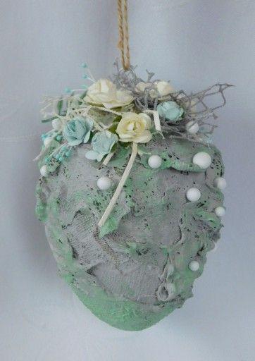Pisanka Mix Media Zawieszka Ozdoby Wielkanocne 7811889523 Oficjalne Archiwum Allegro Easter Egg Crafts Easter Crafts Holiday Projects