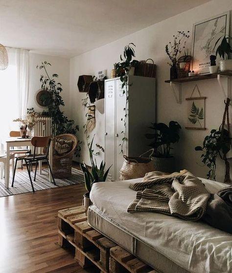 45 Inspiring Plants Ideas In Bedroom Decor