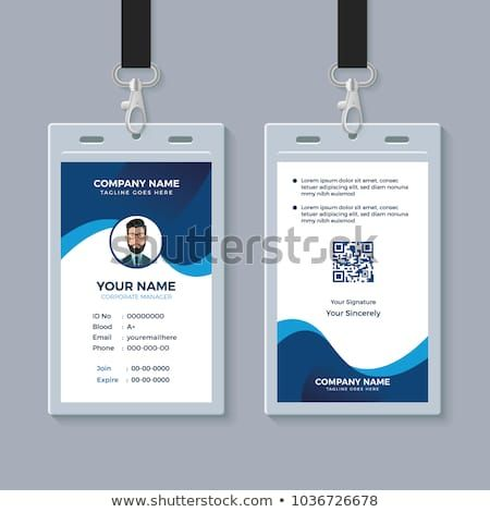 Creative Id Card Template Perfect For Any Types Of Agency Corporate Offices And Companies You Can Id Card Template Graphic Design Business Card Card Design
