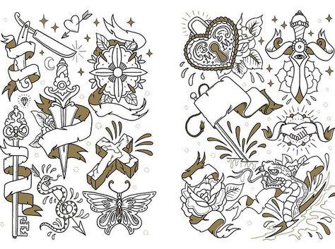 Megamunden Tattoo Colouring Book