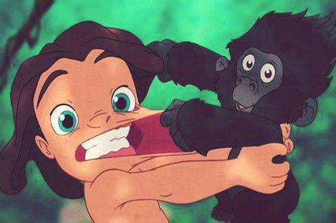 Disney Filmes De Animacao Tarzan Desenhos Animados