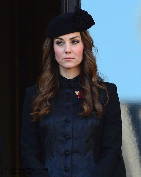 Duchess Kate: Kate Solemn In Temperley For Remembrance Sunday Nov. 10th 2013