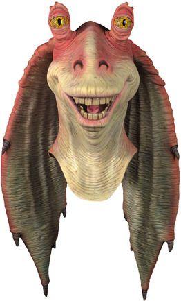 Google Image Result For Http Www Mooncostumes Com Image 3966 Star Wars Art Star Wars Merchandise Star Wars Jar Jar